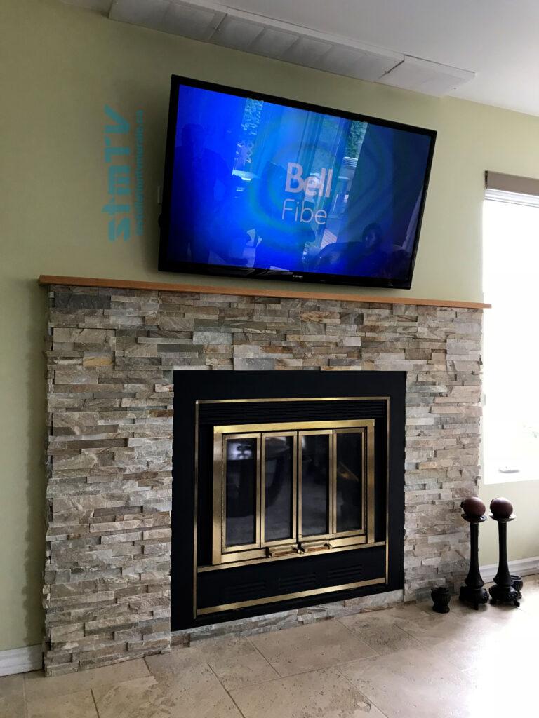 installation tv