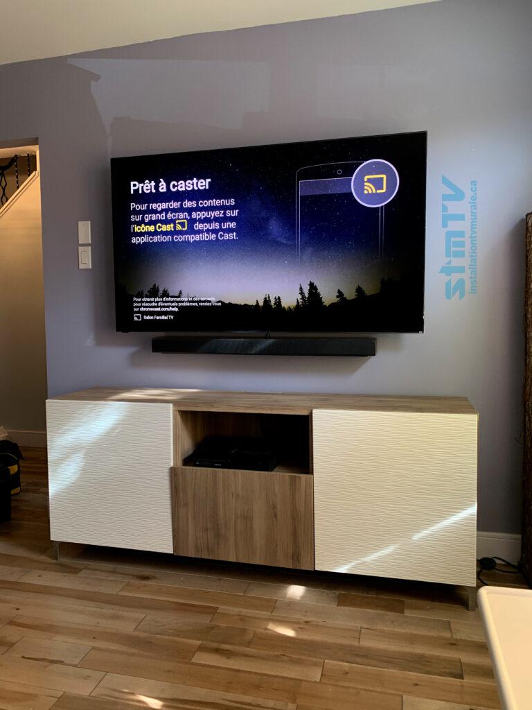 Meilleur installateur de tv sur mur