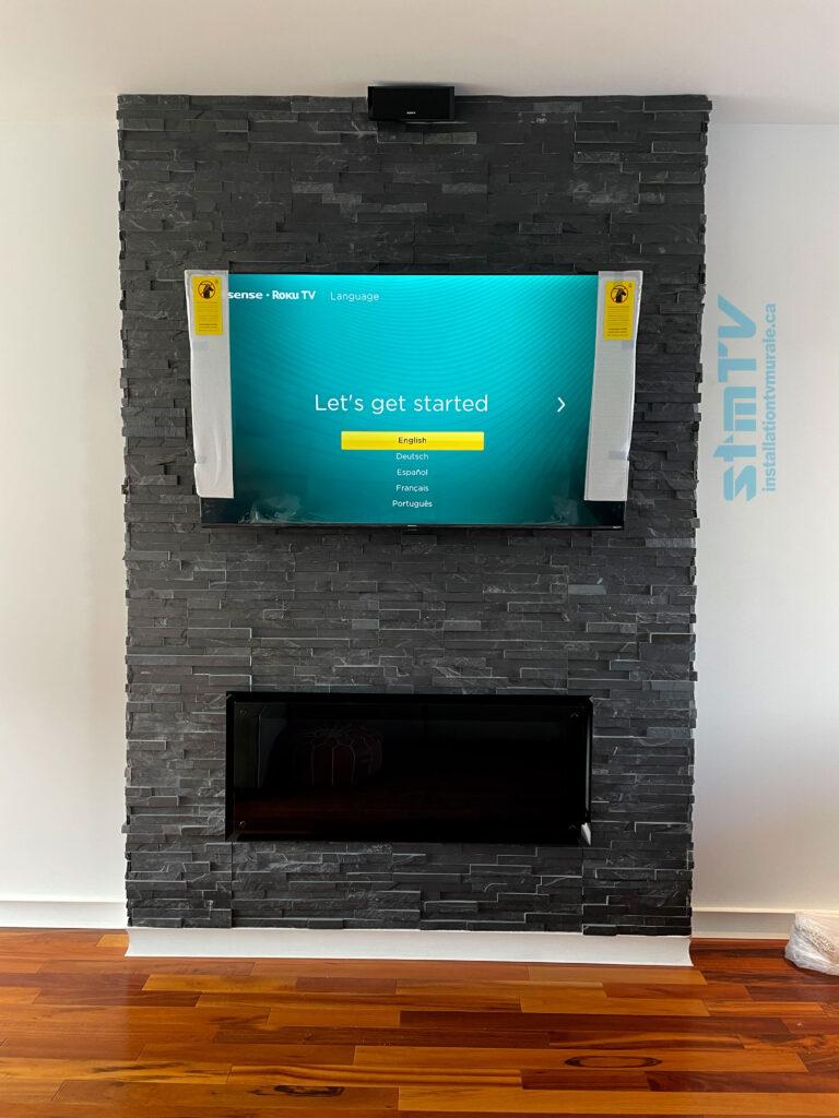 installation tv laval