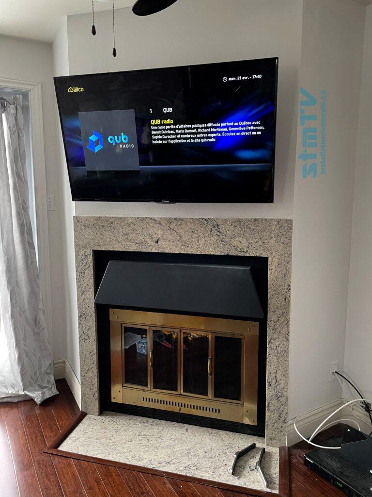installation tv montreal est